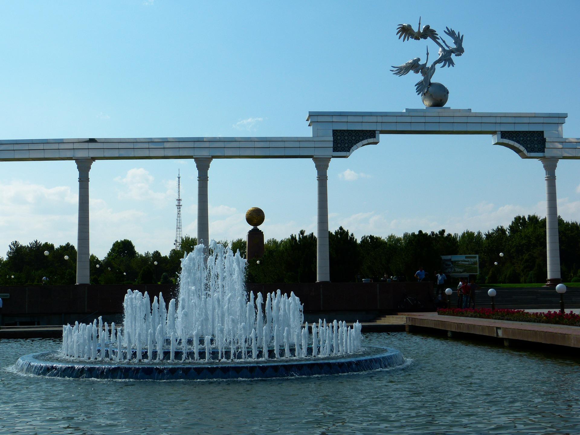 Tashkent-Fountain